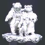 Three Bears Music Box
