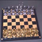 North America Wildlife Chess Set