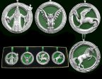 Mythology Christmas Ornament Set