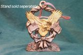 Eagle - Flag Christmas Ornament