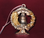 Eagle -Liberty Bell Christmas Ornament